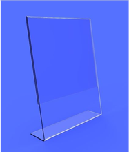 Beautiful Displays Acrylic 8.5 x 11 Slanted Sign Holders/slanted sign display