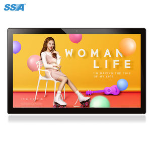 21.5 Inch Lcd Digital Signage Android 5.1 Wandmontage Digital Signage