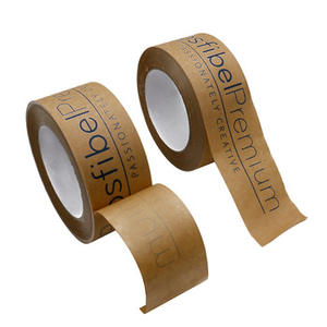 Eco Friendly Kraft Paper Custom Logo Packing Paper Tape