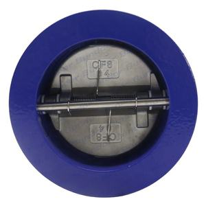 Bundor 4 inch PN16 wafer check valve CF8 disc 2inch-12inch spring non return valve