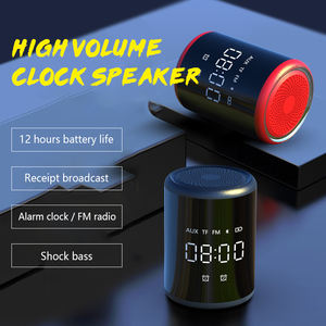 Mini Bluetooth Speaker Hifi Super Bass Stereo untuk Ponsel/Komputer Nirkabel Tahan Air Produk Baru 2020 Speaker Bluetooth