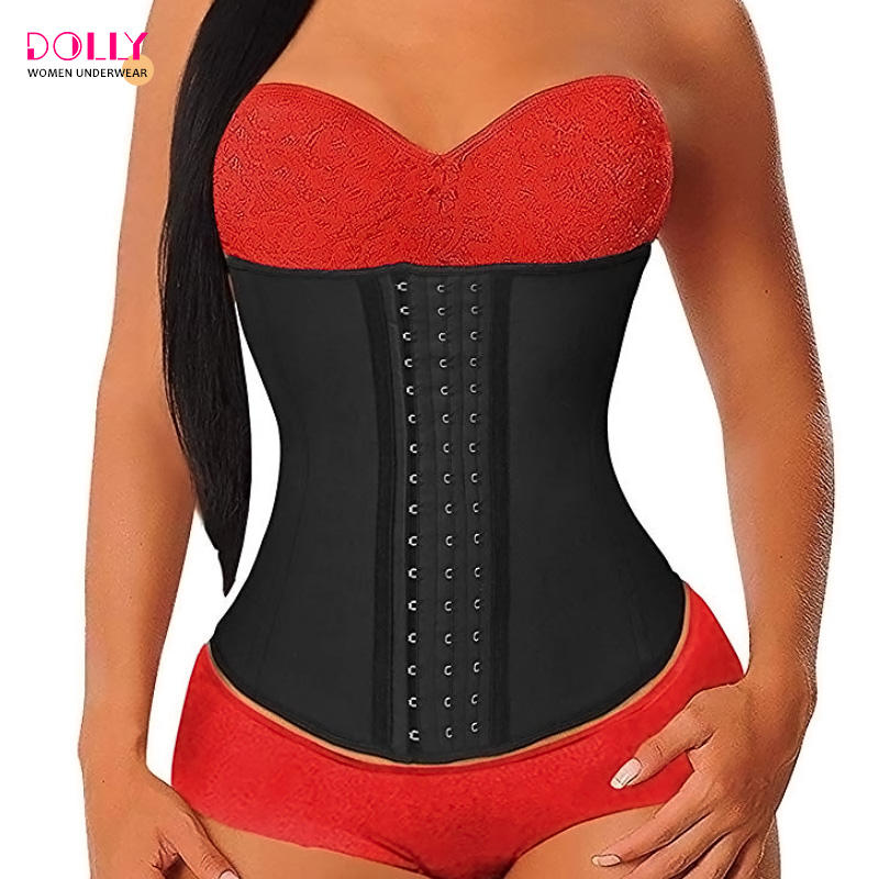 Latex Taille Training Cincher Corset Body Shaper Taille Trainer Vrouwen Afslanken Taille Riem