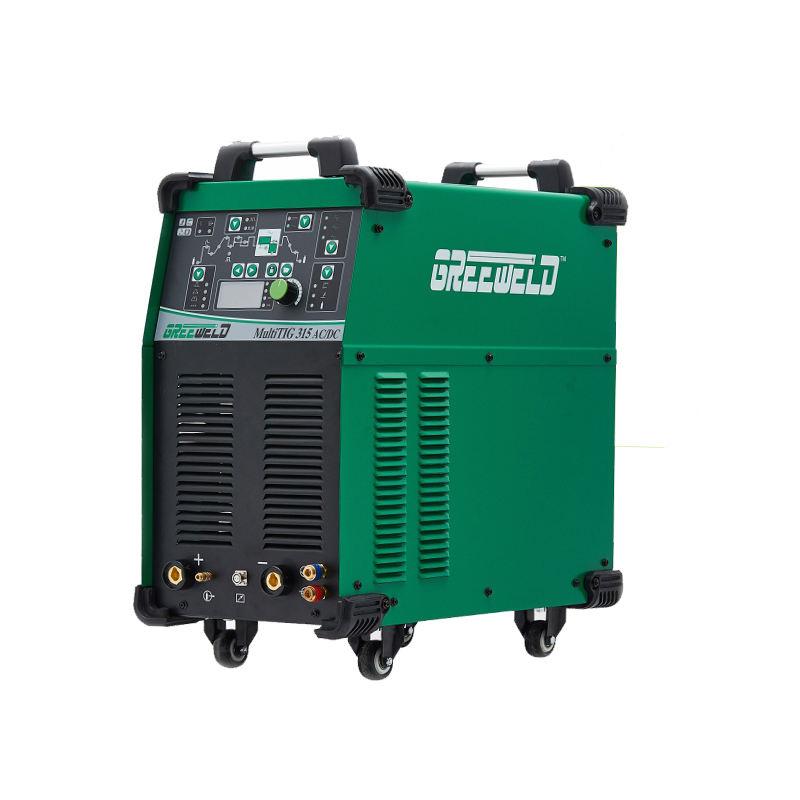 Top Qualität Aluminium Ac Dc Tig315 Puls Inverter Schweißen Maschine Digital Control Pulse Ac Dc Tig Schweißer