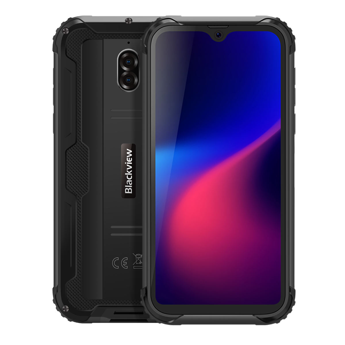 IP68/IP69K Waterproof handy Blackview BV5900 5580mAh 3GB 32GB 5.7 zoll Android 9.0 Quad core 4G Rugged Smartphone
