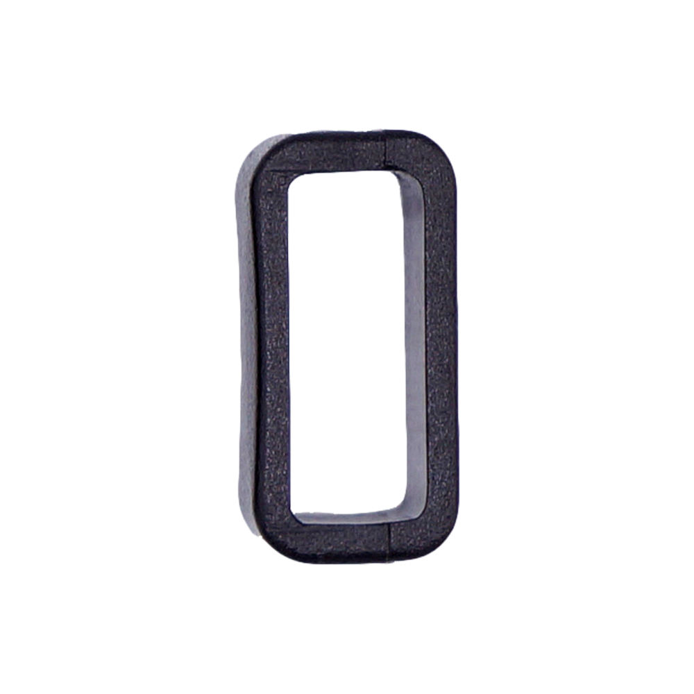 WL F834-10MM round square plastic square buckle high quality buckle plastic square rings for bag