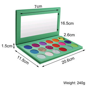 Best 2020 Custom Cosmetics Makeup Pigments Matte Glitter Private Label Eyeshadow Palette