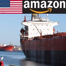 cheapest rates logistics agent amazon FBA express sea freight forwarder from China to Europe USA air freight shipping