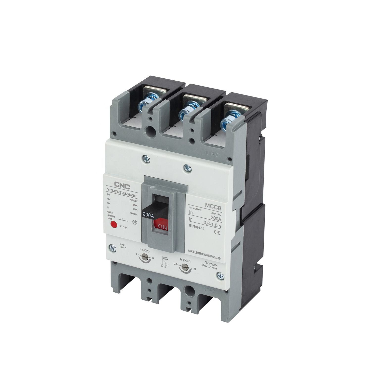 Thermal Magnetic Adjustable 160S 3P 50A-63A Circuit Breaker AC