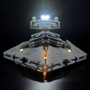 LIGHTAILING LED Light Kit For Imperial Star Destroyer Set Compatible With legos 75055 - not include legos set