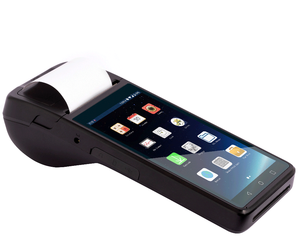 3G portable POS machine Mini Android mobile pos terminal With 58mm thermal Printer machines pos