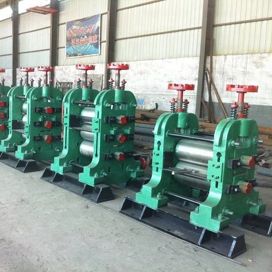 Hongteng 2hi hot rolling mill roll TMT rebar steel continuous in series re-rolling mill 10T/H deformed bar production line