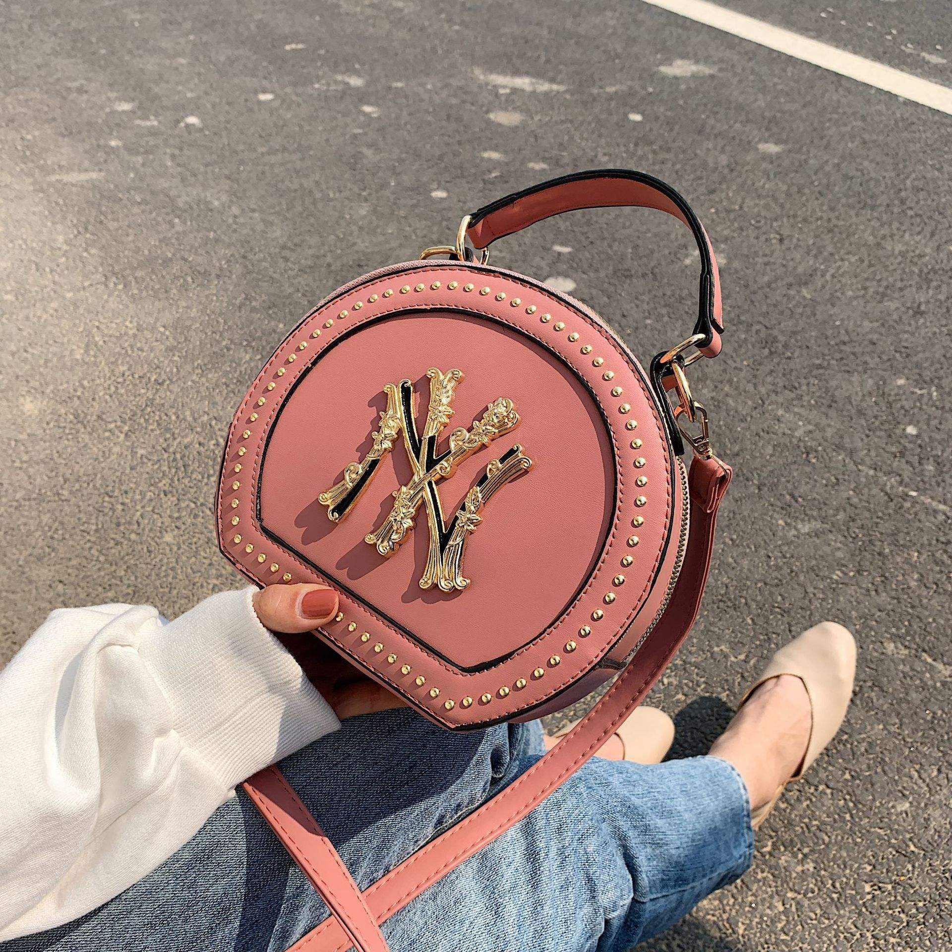Sac A Main Fashion Luxury New Round Bag Designers Handbags Famous Brands NY purse handbags for women 2020