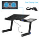 Laptop Desk Adjustable Laptop Desk High Quality Laptop Stand Foldable Aluminium Laptop Desk Adjustable Outdoor Portable Adjustable Computer Desk