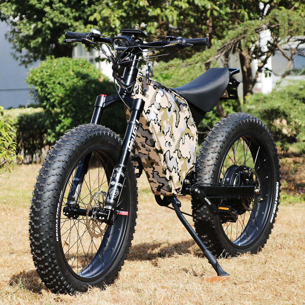 Sports Professional Racing Off Road fat tire Bicycle Adult Bike Electric bicycle Motorcycles 5000W 72V