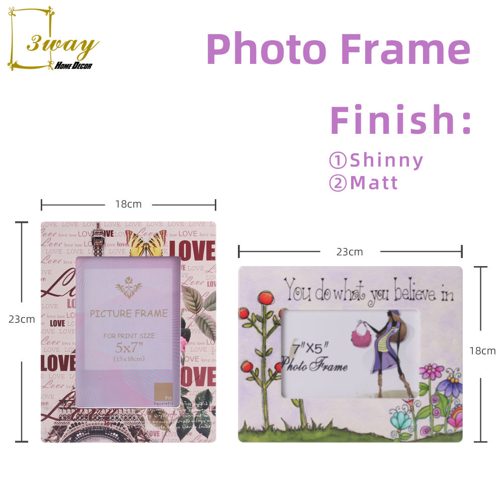 Hot-seller ceramic photo frames designs wedding souvenirs frame photo