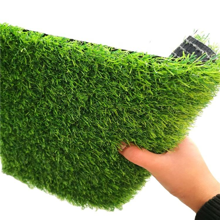 Factory Price Football Court Artificial Turf No Filling Plastic Futsal Grass