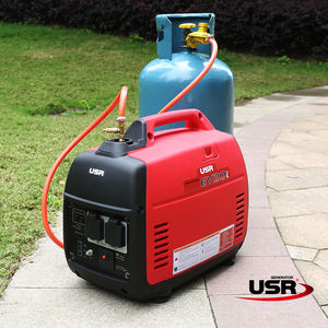 dual fuel generator inverter type compact size 2000w working with gas for house