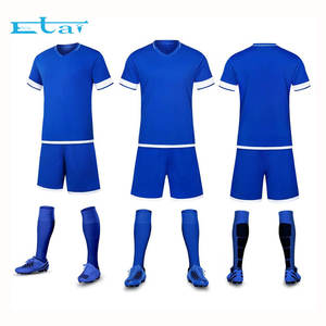 custom colorful cheap football teams t shirts wholesale blank soccer jersey