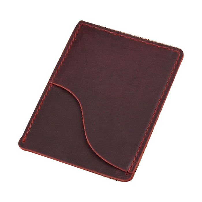 Best Quality 2020 Credit Men Genuine Crazy Horse Leather Business Card Holder