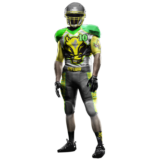Sublimation Made Youth American Football Team uniforms /American Football Jersey For Custom