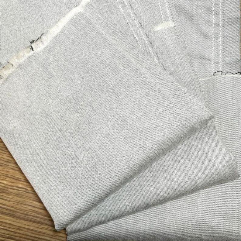 Новейший дизайн легкие брюки хлопкового материала на основе спандекса, выполнено в цветовой гамме ткань