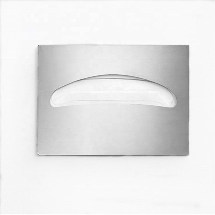 LQS SUS 304 Arch-shaped Dispensing Sanitary RestroomSanitary Toilet Seat Cover Paper Dispenser