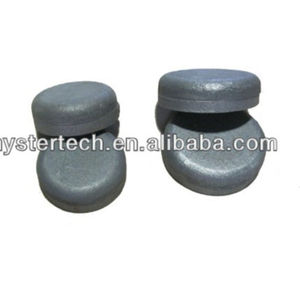 White iron wear buttons and chocky bar for Bucket wear protection