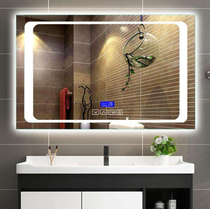 Wholesale factory price customized size mirror light led vanity bathroom mirror