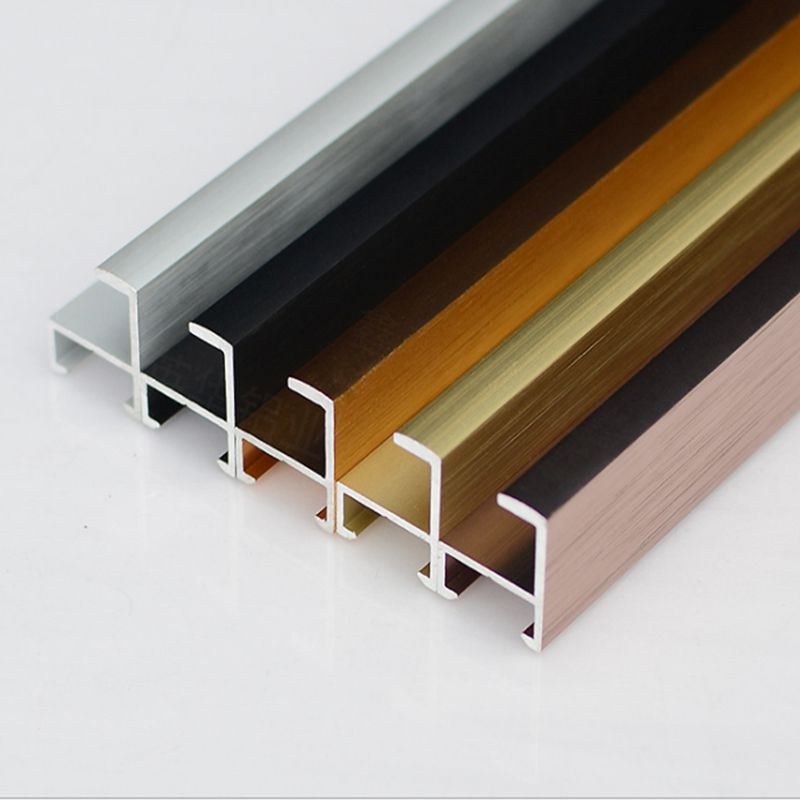 Brushed extrusion aluminium frame for picture or photos structure and solar panel