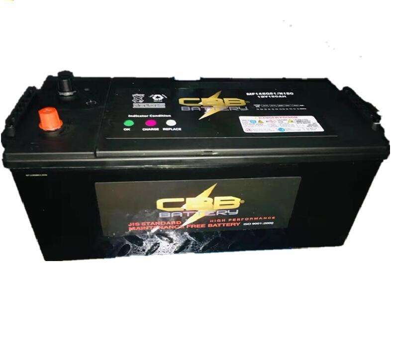 HD Battery 12V 150Ah Heavy Duty Truck Battery High Temp Battery