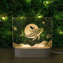 New Products 3D Bed Light 3D Illusion Effect Table Lamp On Ebay Youtube