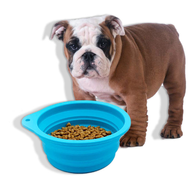 New Design Silicone Collapsible Portable Pet Bowl For Dog