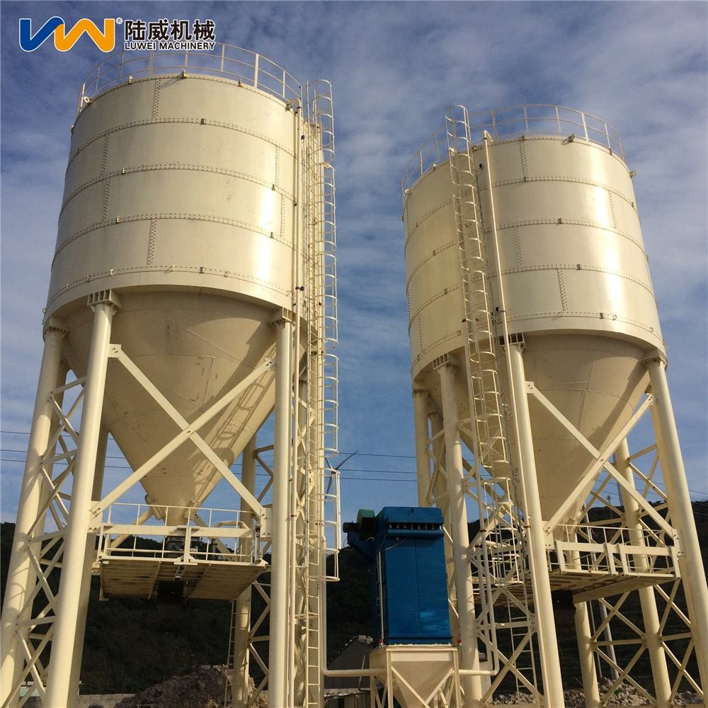 Carbon steel bolted silo engineering storage tanks 100T