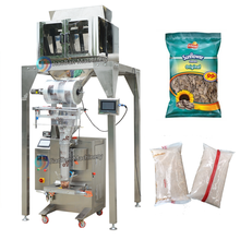 JB-300X4 Automatic 4 heads linear weigher rice packing machine, granule beans packer