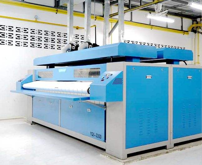 Industrial Professional Flatwork Ironing Machine, Laundry Equipment