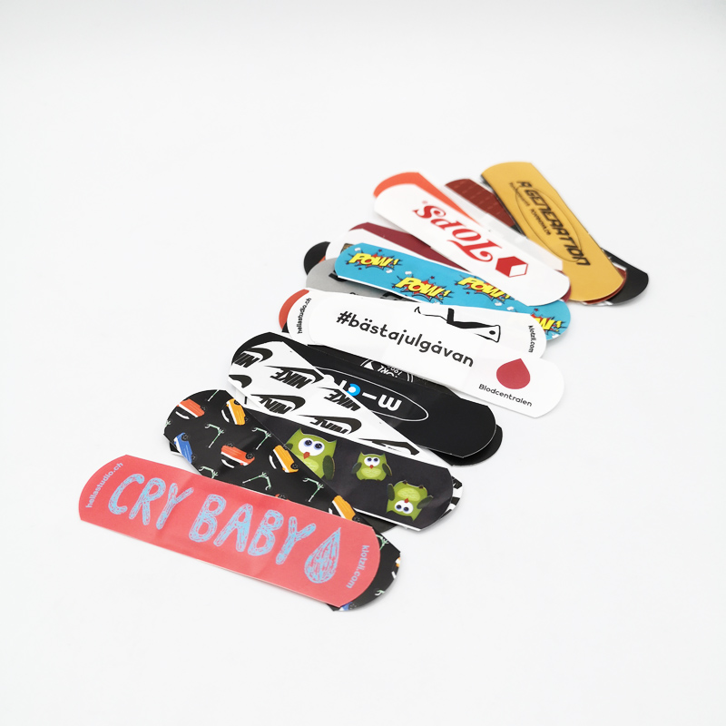 Medical Band Aid, Cartoon Bandage, Custom Printed Plaster Strip