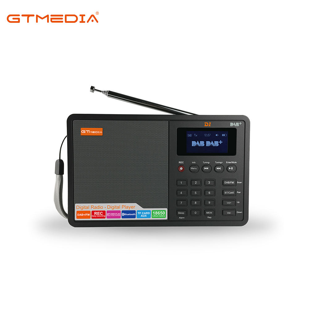 New Arrival GTMedia D1 Mini Digital DAB+/FM Radio Two Band With USB