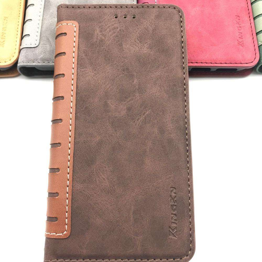 Hot sale split joint wallet pu leather mobile phone cover phone Case