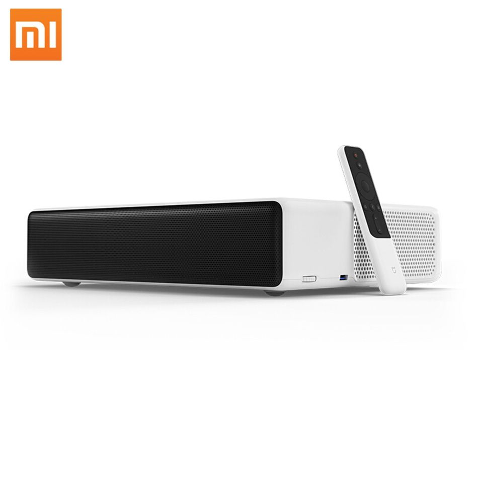Xiaomi Norma Mijia Laser Proiettore TV 150 Pollici Multilingue 1080 Full HD 3D ALDP 3.0 Supporto 4K Video TV Dolby DTS Proiettore Laser