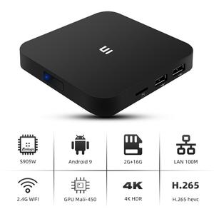 Pabrik Harga Saham Android 9 Amlogic S905W 2Gb 16Gb Tv Box Android Iptv