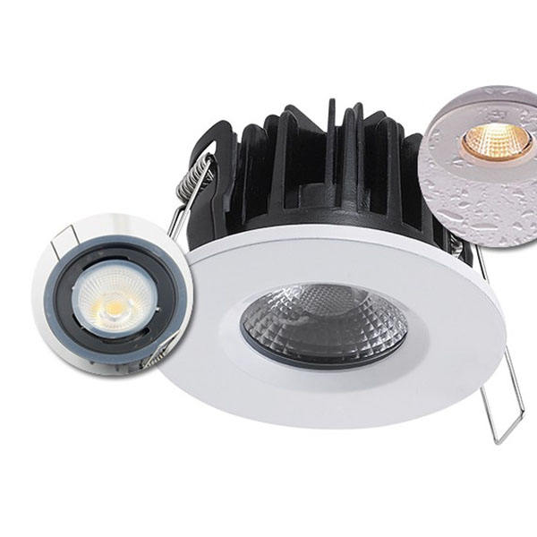 Commerciële cob ronde waterdichte led down light 7W 8W