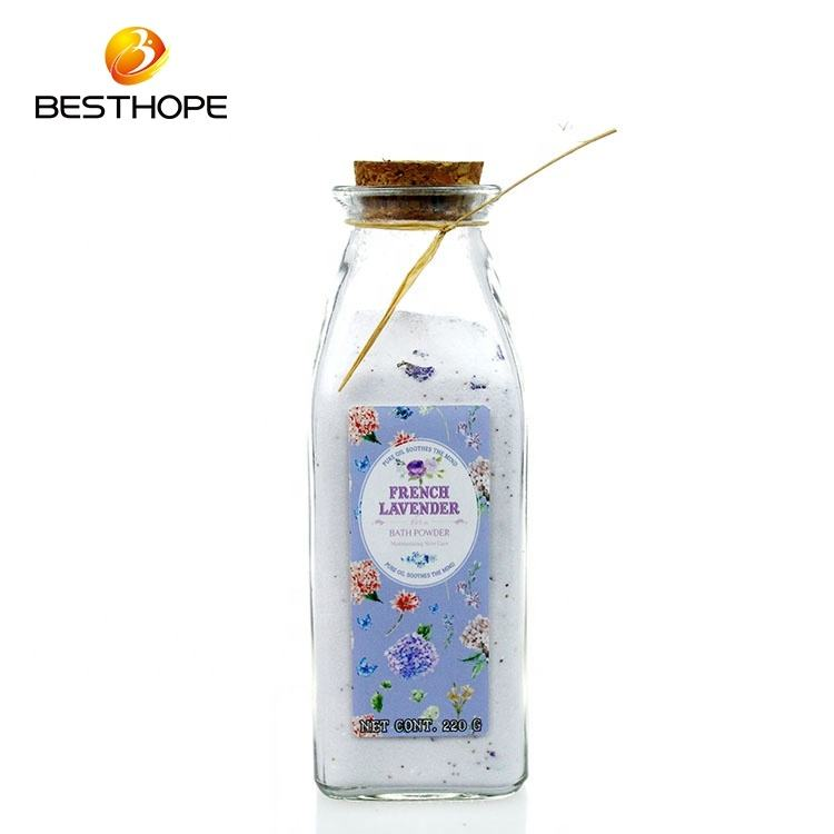 OEM ODMwholesale lavender bulk spa shower bubble bath powdered