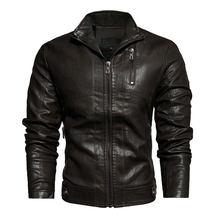 Motorcycle Vintage Leather Jacket giacca di pelle lederjacke veste de cuir veste homme