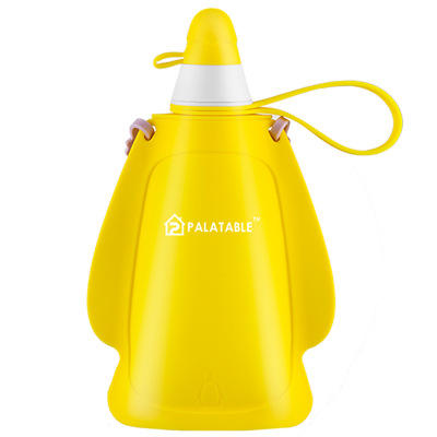 2020 Outdoor Silicone Sport Kids Collapsible Water Bottle With Custom Logo
