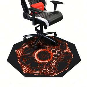 Wholesale chair mat floor pads natural rubber mouse pads full printing anti slip gaming chair pads