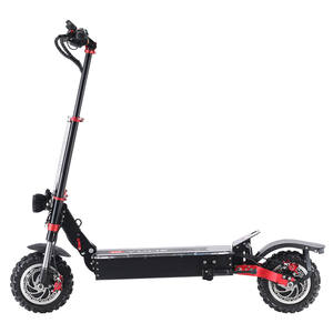 Yume New Arrival 11inch 2 Motors 5600W Dual Motors 60v 42ah battery Electric Scooter with seat for Adults