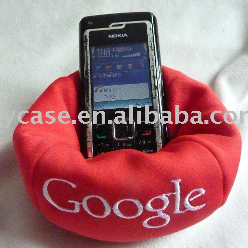 cell phone holder chair , promotion bean bag control desk holder