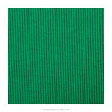 Many colors in stock cotton spandex 2X2 knitted 95% cotton 5% spandex ribbing fabric for sweatshirts