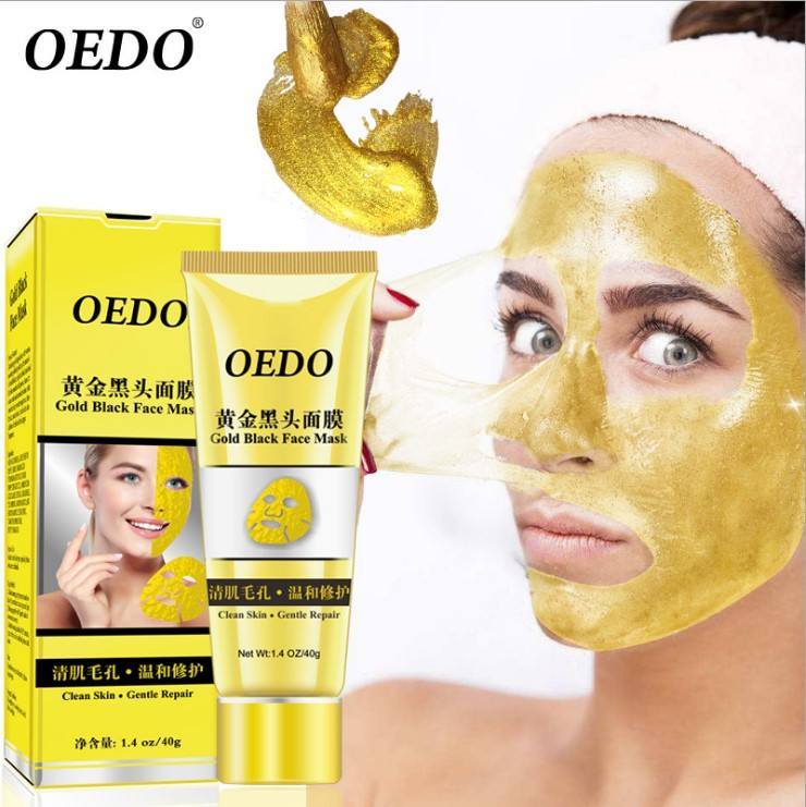 OEM OEDO Gold Remove Blackhead Mask Shrink Pore Improve Rough Skin Acne Shills Blackhead Remover Mask Facial Moisturizing Cream