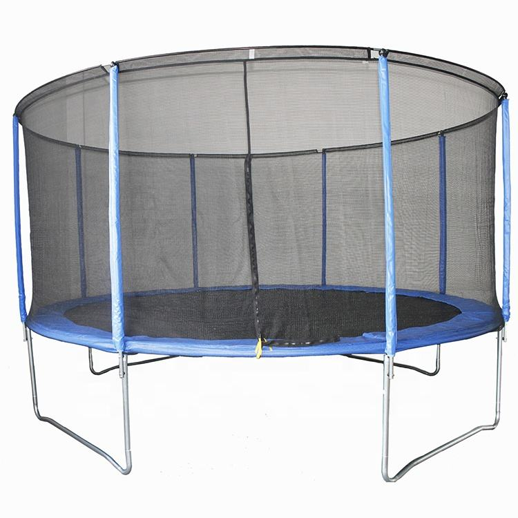 <span class=keywords><strong>피트니스</strong></span>를 위한 안쪽 그물을 가진 14ft 섬유 막대 trampoline